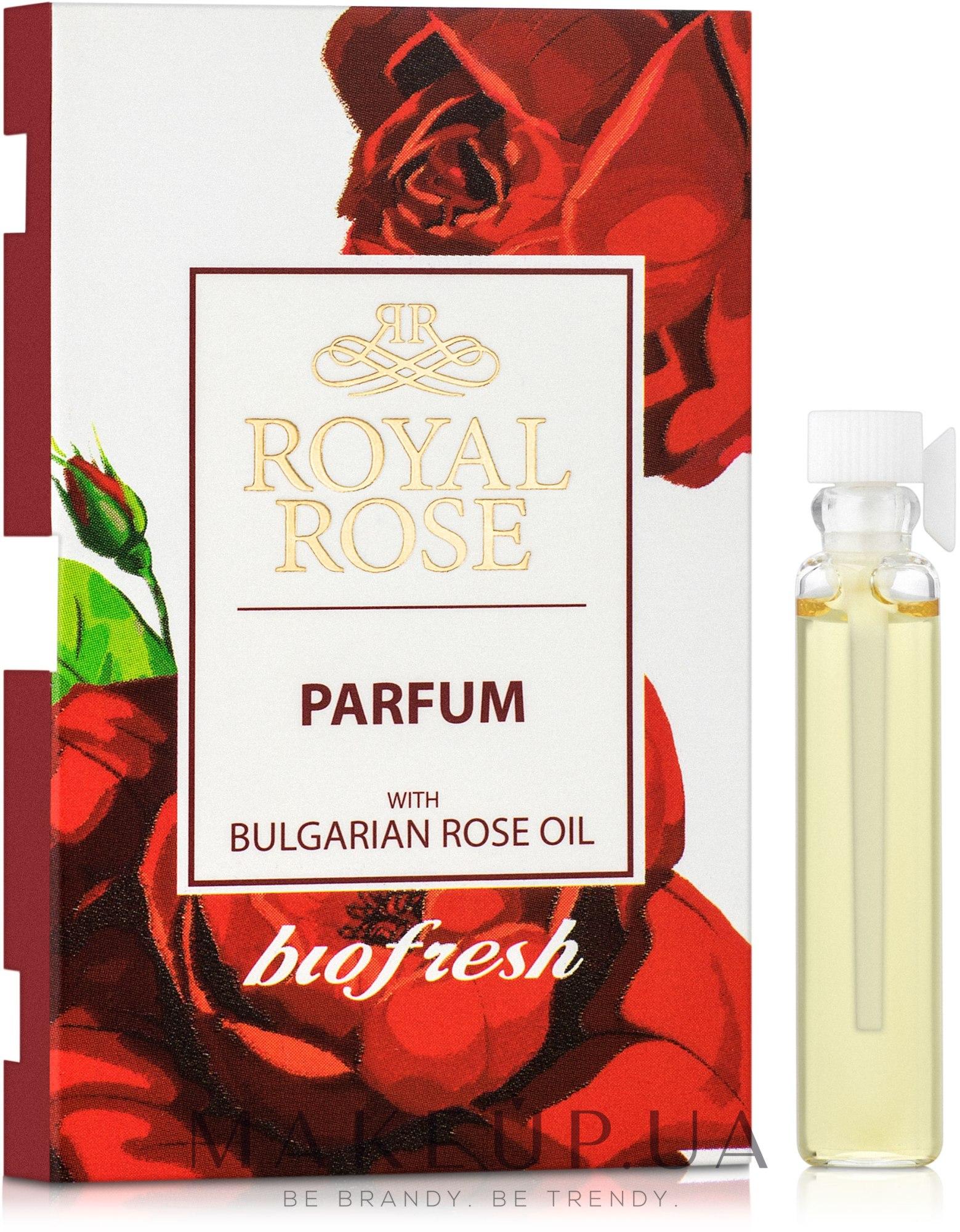 BioFresh Royal Rose - Парфумована вода (пробник) — фото 2.1ml