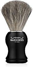 Духи, Парфюмерия, косметика Кисть для бритья - Barburys Grey Silhouette