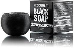 Духи, Парфюмерия, косметика Мыло-маска-скраб с кокосовым углем - Mr.Scrubber Black Soap