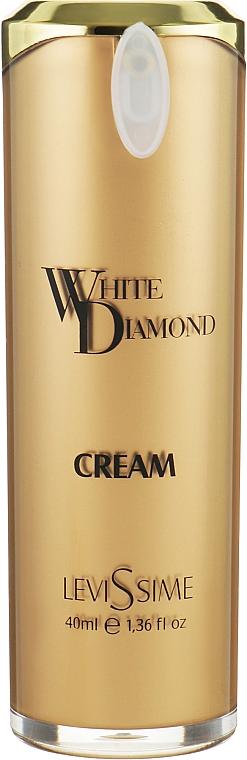 Омолаживающий дневной крем для лица с белым трюфелем - LeviSsime White Diamond Cream SPF 15