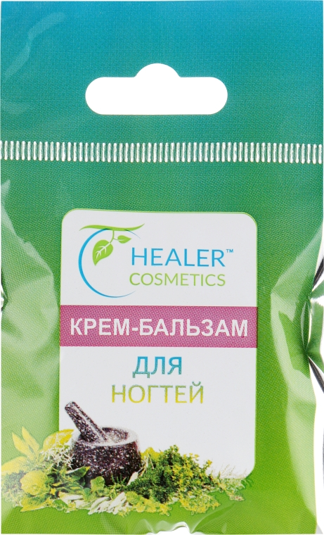 Крем-бальзам для ногтей - Healer Cosmetics
