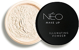 Духи, Парфюмерия, косметика Пудра для лица сияющая - NEO Make Up Illuminating Powder