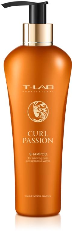Шампунь для потрясающих завитков и волон - T-LAB Professional Curl Passion Shampoo