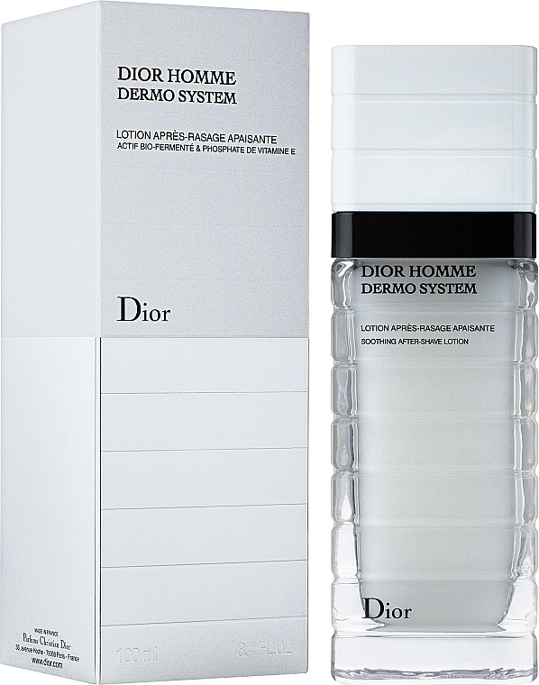 Лосьон для лица - Dior Homme Dermo System Soothing After-Shave Lotion