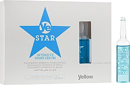 Духи, Парфюмерия, косметика Сыворотка для волос - Yellow Star Intensive Shine Serum