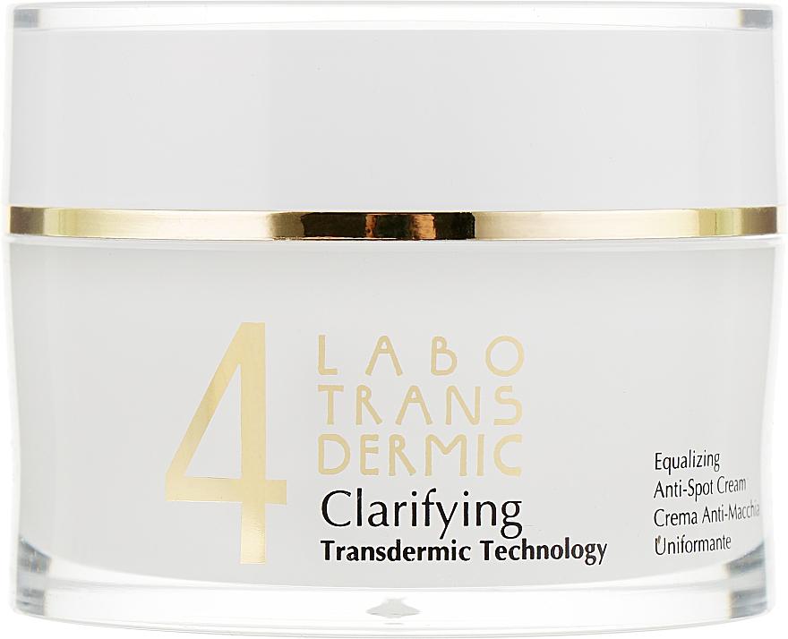 Крем от пигментных пятен для выравнивания тона кожи - Labo Transdermic 4 Clarifying Equalizing Anti-Spot Cream
