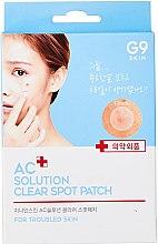 Духи, Парфюмерия, косметика Патчи для лица, точечные - G9Skin AC Solution Clear Spot Patch