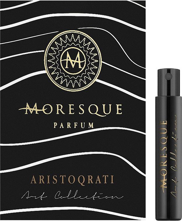 Moresque Aristoqrati - Парфюмированная вода (пробник)