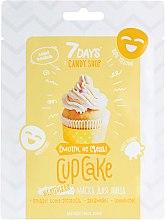 """Духи, Парфюмерия, косметика Маска для лица """"Cupcake"""" с бананом и ванилью - 7 Days Candy Shop"""