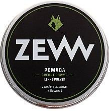 Духи, Парфюмерия, косметика Моделирующая помада на водной основе с углем - ZEW Pomade For Men