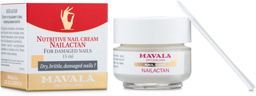 Крем для поврежденных ногтей - Mavala Nailactan
