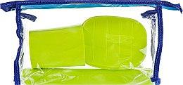 Духи, Парфюмерия, косметика Дорожный набор туалетных принадлежностей 98020, салатовый - SPL