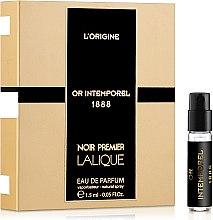 Парфумерія, косметика Lalique Or Intemperel - Парфумована вода (пробник)