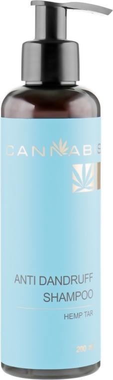 Шампунь-восстановитель от перхоти с конопляным дегтем и экстрактом каннабиса - Cannabis Anti Dandruff Shampoo