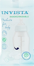 Духи, Парфюмерия, косметика Детские влажные салфетки, голубая упаковка, 15 шт - Invista Products For Baby Biodegradable