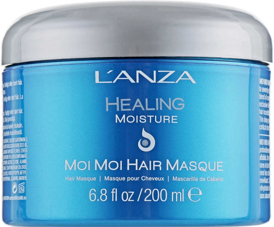 Восстанавливающая маска для волос - L'anza Healing Moisture Moi Moi Hair Masque