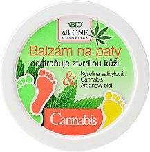 Духи, Парфюмерия, косметика Бальзам для ног - Bione Cosmetics Cannabis Heel Balm Removes Hard Skin