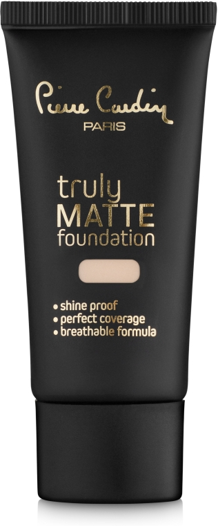 Тональная основа для лица - Pierre Cardin Truly Matte Foundation