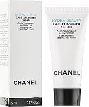 Духи, Парфюмерия, косметика Увлажняющий крем-флюид для лица - Chanel Hydra Beauty Camellia Water Cream (пробник)