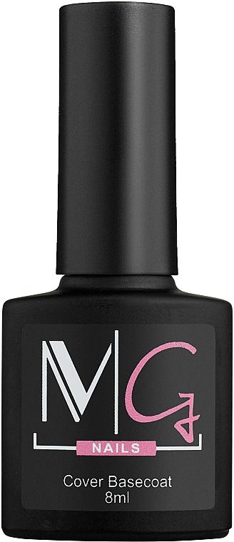 Цветное базовое покрытие - MG Nails Color Cover Base
