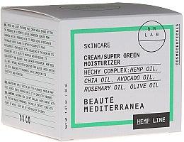 """Духи, Парфюмерия, косметика Крем для лица """"Суперзеленый увлажняющий"""" - Beaute Mediterranea Hemp Line Cream Super Green Moisturizer"""