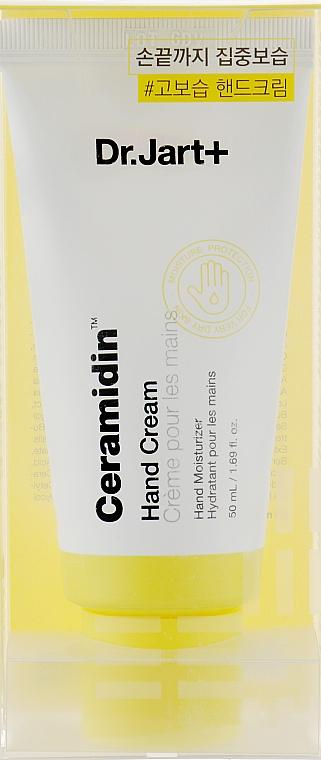 Увлажняющий крем для рук - Dr. Jart+ Ceramidin Hand Cream