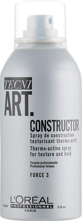 Спрей термоактивный текстурирующий - L'Oreal Professionnel Tecni.art Constructor Thermo-Active Spray