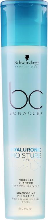 Увлажняющий мицеллярный шампунь - Schwarzkopf Professional BC Bonacure Hyaluronic Moisture Kick Micellar Shampoo