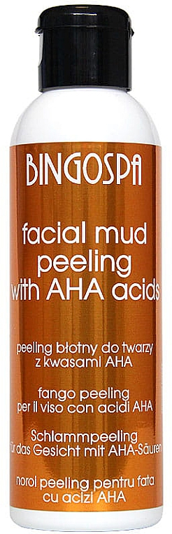 Грязевой пилинг для лица с фруктовыми кислотами - BingoSpa Face Peeling
