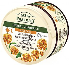 "Крем для лица ""Календула"" - Green Pharmacy Refreshing And Moisturizing Cream — фото N1"