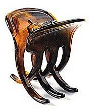Духи, Парфюмерия, косметика Зажим для волос FA-5803, янтарный цвет - Donegal