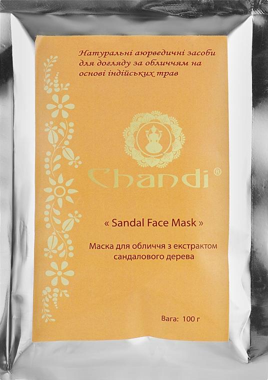 Маска для обличчя - Chandi Sandal Face Mask — фото N1