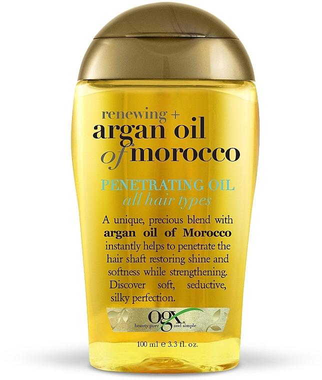 Аргановое масло Марокко для восстановления волос- OGX Argan Oil of Morocco Penetrating Oil