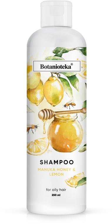 """Шампунь для жирных волос """"Лимон и мед манука"""" - Botanioteka Shampoo For Oily Hair"""