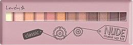 Духи, Парфюмерия, косметика Палетка теней - Lovely Classic Nude Make Up Kit
