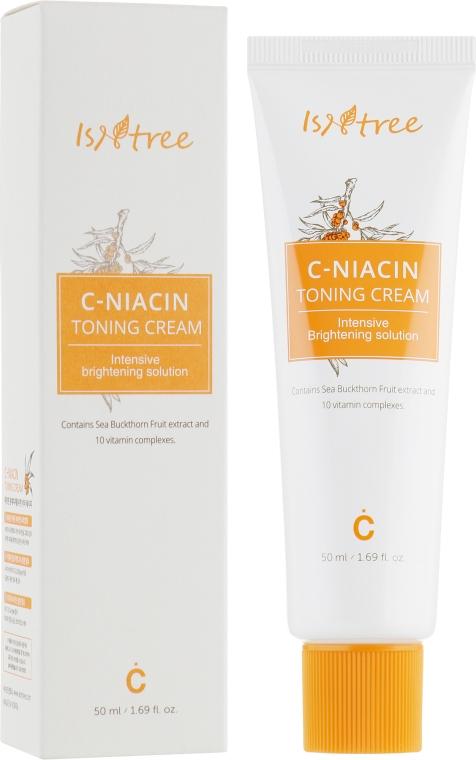 Тонизирующий крем для лица с витамином С - IsNtree C-Niacin Toning Cream