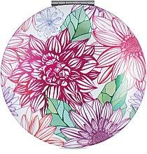 Духи, Парфюмерия, косметика Зеркало косметическое круглое, цветы - Элита