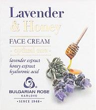 Духи, Парфюмерия, косметика Крем для лица - Bulgarska Rosa Lavender & Honey Cream