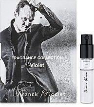 Духи, Парфюмерия, косметика Franck Boclet Violet - Парфюмированная вода (пробник)