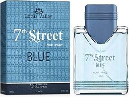 Духи, Парфюмерия, косметика Lotus Valley 7th Street Blue Homme - Туалетная вода
