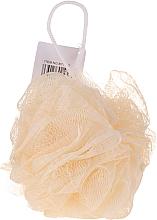Духи, Парфюмерия, косметика Губка для ванной, желтая - IDC Institute Design Mesh Pouf Bath Sponges