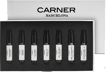 Carner Barcelona Stories Woody Collection - Набор (edp/7x2.5ml)