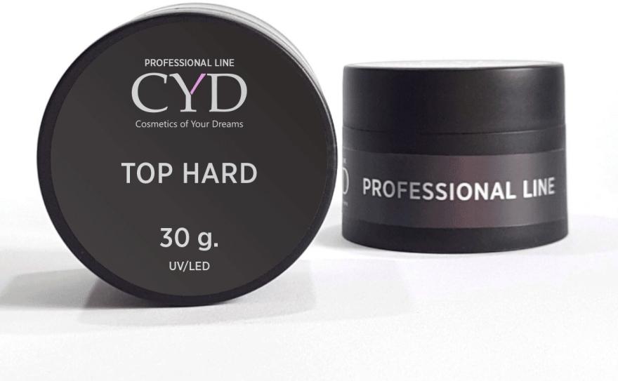 """Финишное покрытие """"Хард"""" для гель-лака (банка) - CYD Profline Top Hard"""
