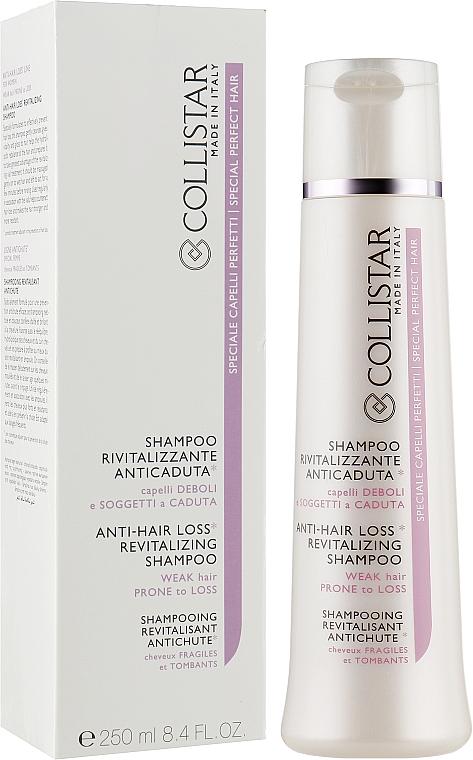 Шампунь от выпадения для тонких волос - Collistar Anti-Hair Loss Revitalizing Shampoo with Trichogen