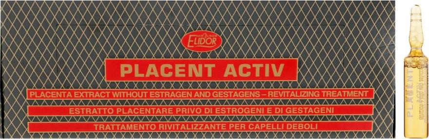 Лосьон для волос на основе экстракта плаценты - Elidor Placent Activ