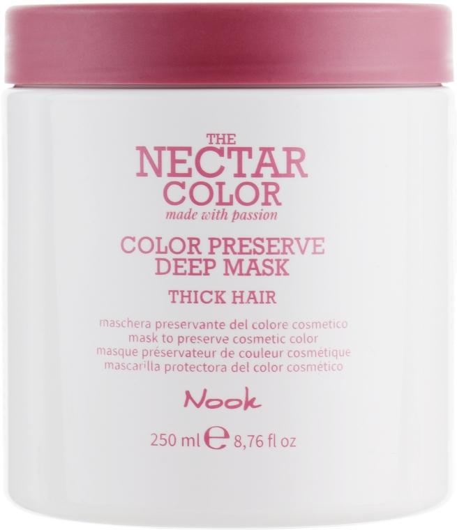 """Маска """"Стойкость цвета"""" для жестких и плотных волос - Nook The Nectar Color Color Preserve Deep Mask"""
