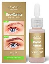 """Парфумерія, косметика Хна для фарбування брів """"Темний шоколад"""" - Kodi Professional Henna For Eyebrows Coloring"""