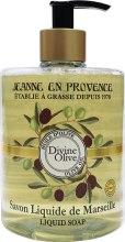 Духи, Парфюмерия, косметика Жидкое мыло - Jeanne en Provence Divine Olive Savon Liquide de Marseille