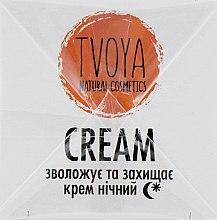 Нічний крем для обличчя - TVOYA Night Cream — фото N3
