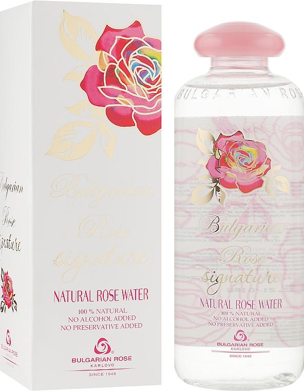 Натуральная розовая вода - Bulgarian Rose Signature Rose Water